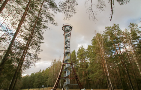 MOST STUNNING OBSERVATION TOWERS IN LITHUANIA